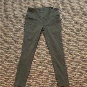 Prana Army green yoga pants